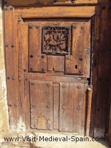 A Typical 2 Piece Front Door Of Spanish Meval House Or 3 If
